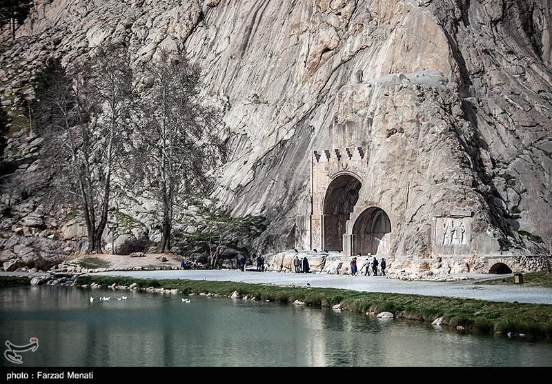 محوطه تاریخی طاق بستان
