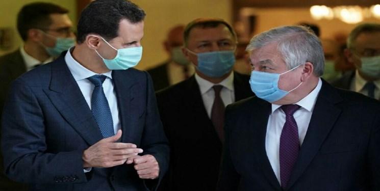 بررسی مقابله با سیاستهای ضد سوری در دیدار فرستاده پوتین و بشار اسد