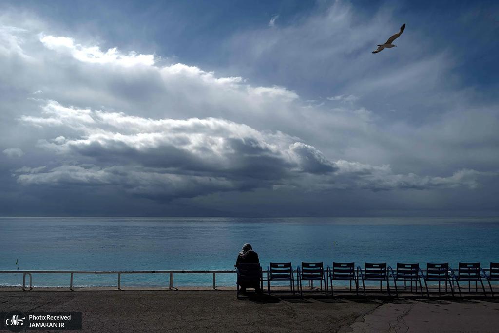 تفرجگاه شهر ساحلی نیس در فرانسه