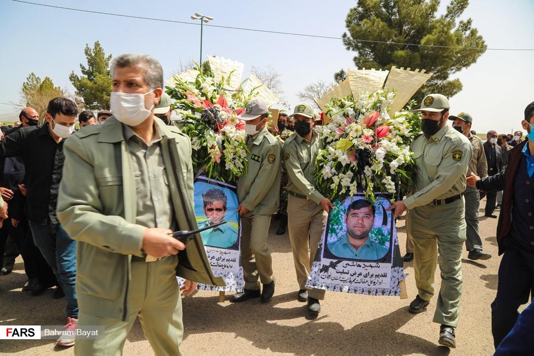 سلام نظامی برای آخرین وداع