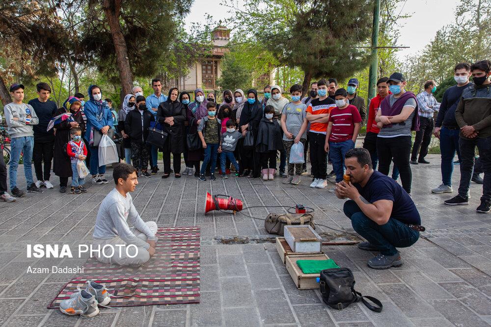 عکس/ قزوین در وضعیت قرمز