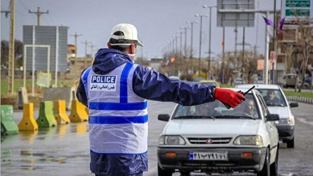 ۱۱۳ خودروی غیربومی از ملایر به شهرهای مبدا عودت داده شد