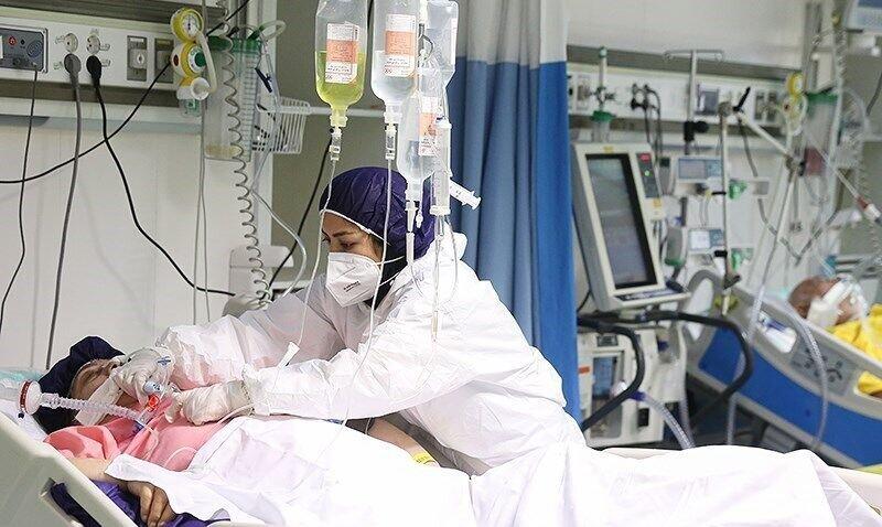 بستری بیماران کرونایی در تمام بیمارستانهای گیلان