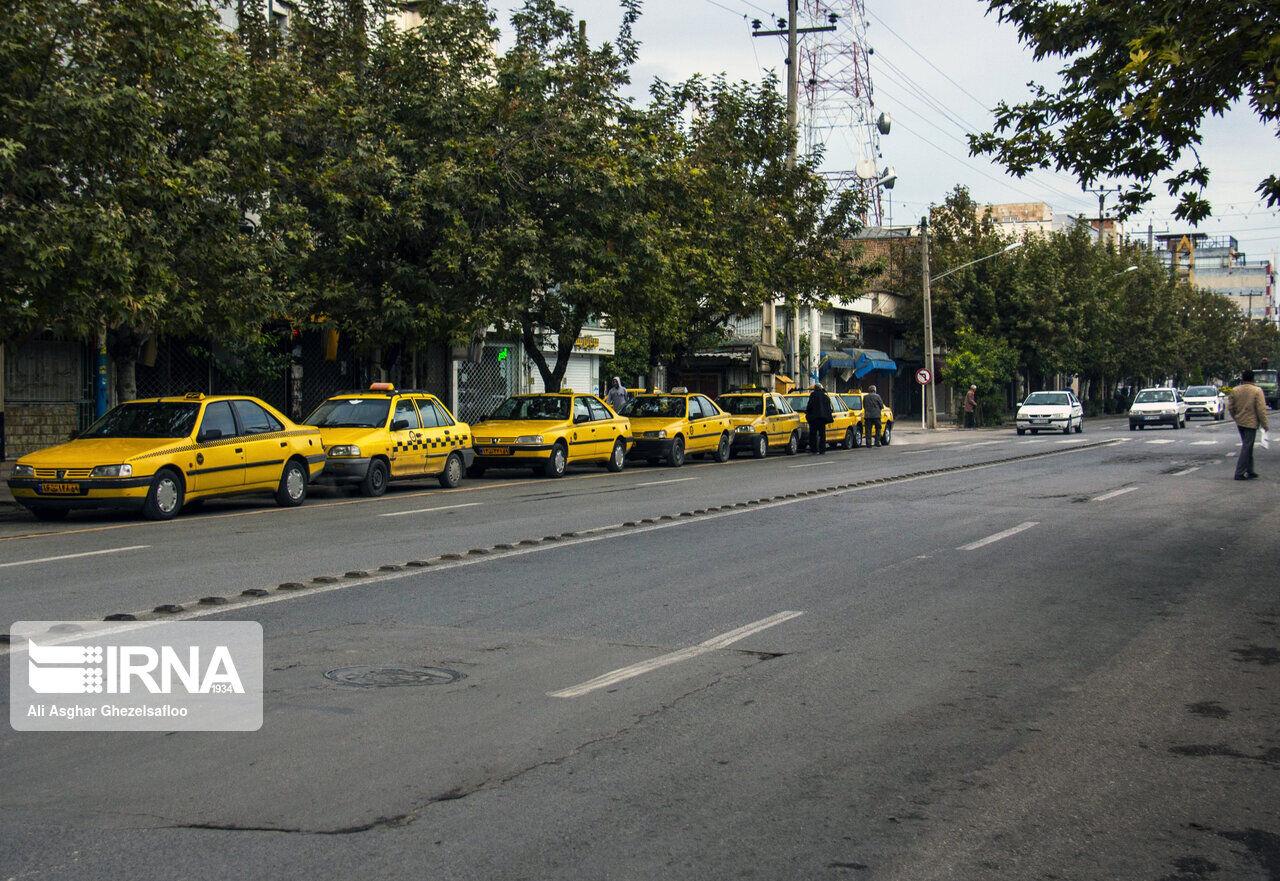 کرایه تاکسی شهری در گرگان افزایش یافت