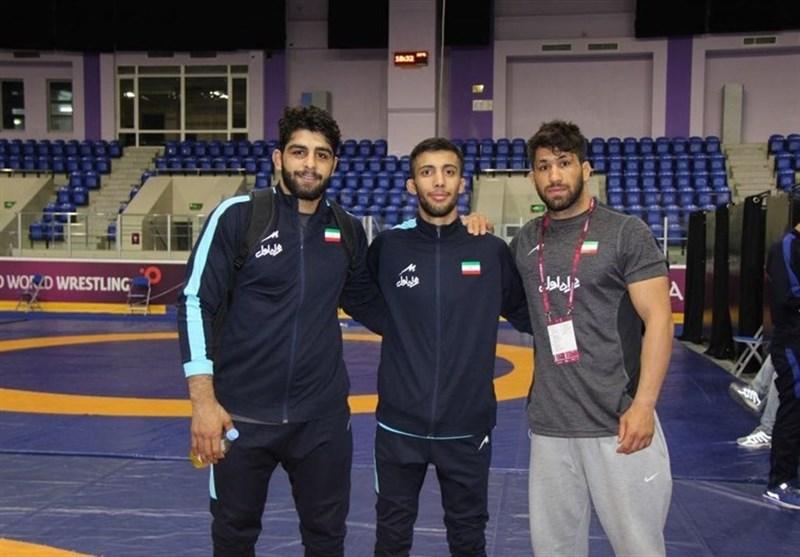 کشتی گزینشی المپیک/ نمایندگان ایران حریفان خود را شناختند