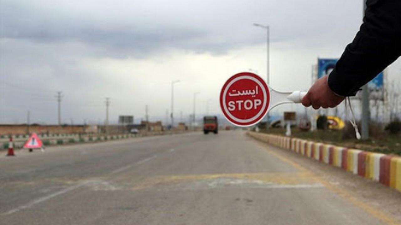 اعمال محدودیتهای کرونایی در مهران