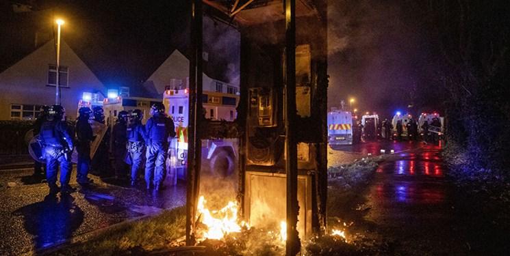 ابراز نگرانی بوریس جانسون از اعتراضات در ایرلند شمالی
