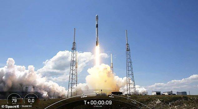۶۰ ماهواره استارلینک دیگر در مدار قرار گرفتند