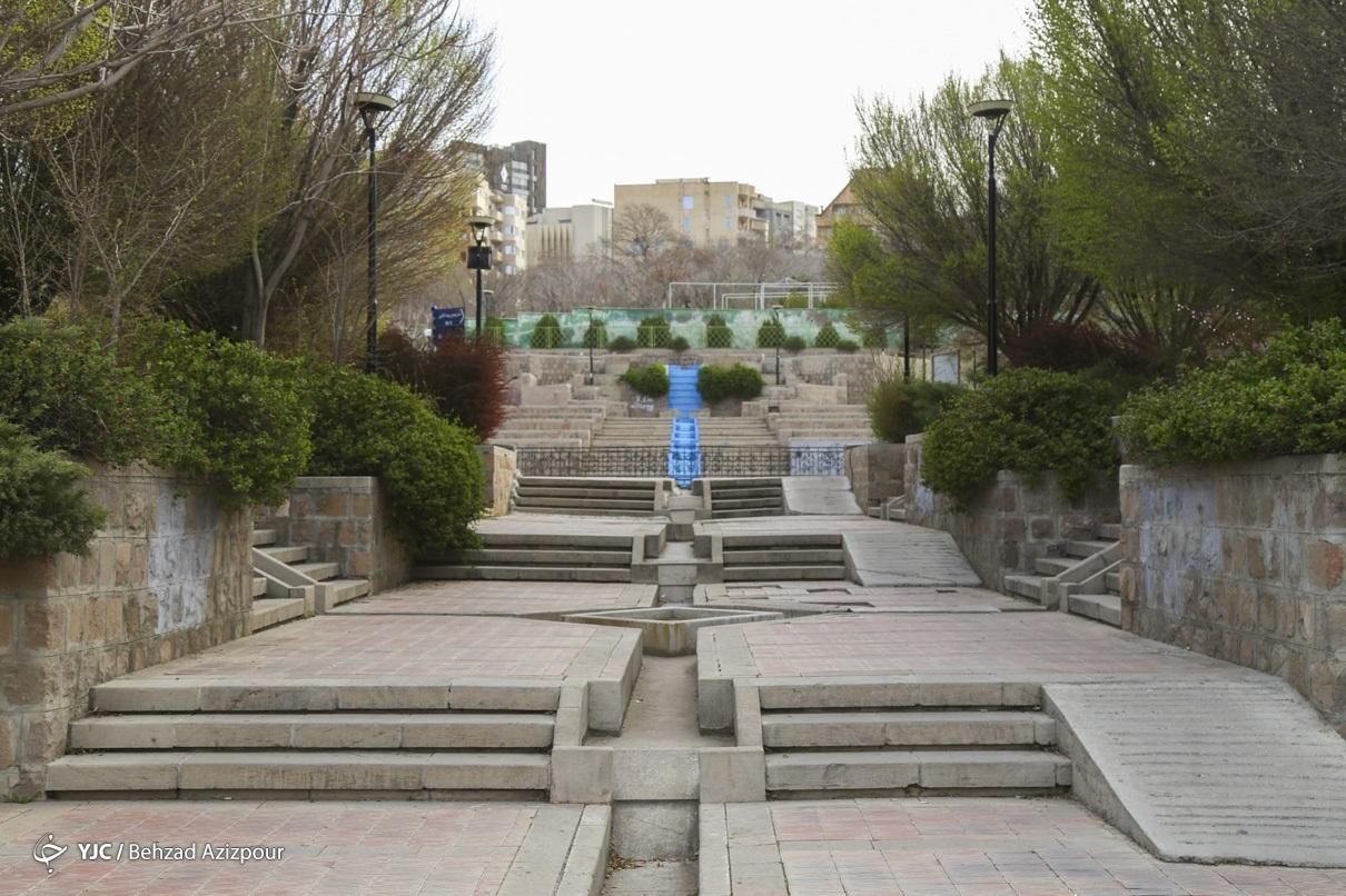 تعطیلی پارکها در تبریز
