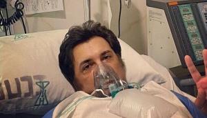 اولین ویدئو حسام نواب صفوی از بیمارستان بعد از ابتلا به کرونا