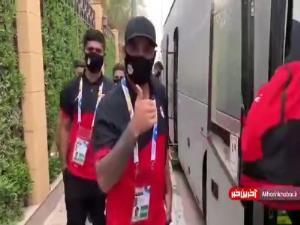 فولاد ایران راهی ورزشگاه فیصل بن فهد ریاض شد