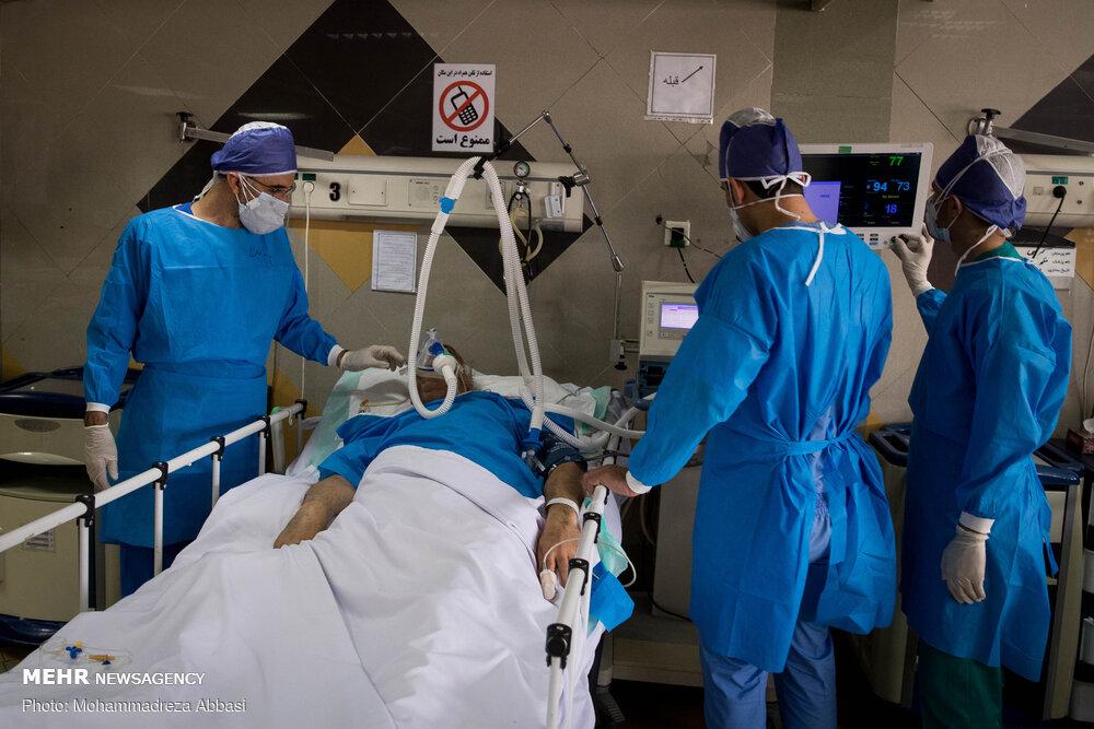 عکس/ شلوغی دوباره بیمارستان ها