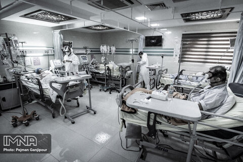 اصفهان نزدیک به مرز بحران؛ ثبت رکورد شناسایی ۲۶۰۰ بیمار کرونایی در استان