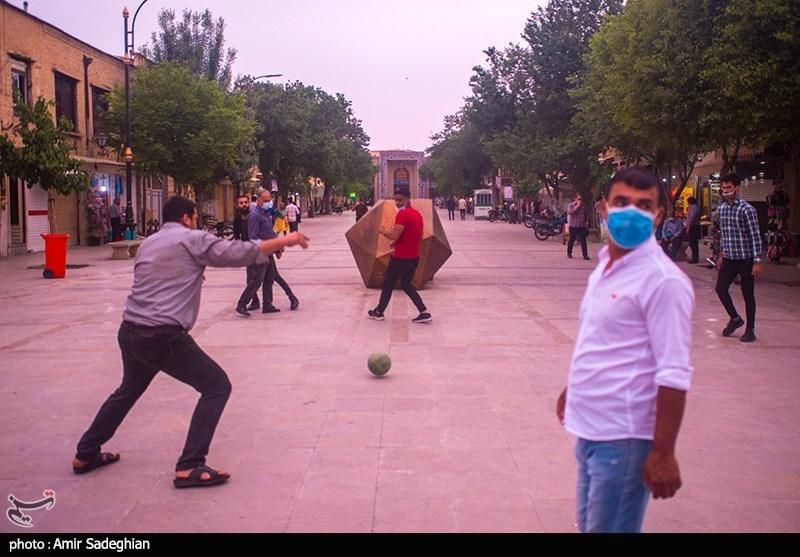 عکس/ شیراز در وضعیت قرمز کرونا