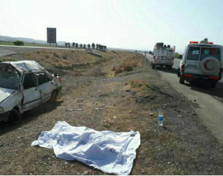 یک کشته در حادثه رانندگی در محور نیشابور ـ مشهد