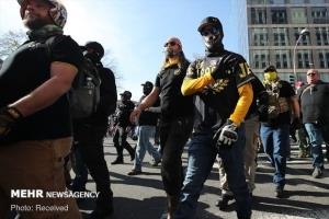 آمریکا در آستانه تظاهرات سفیدبرتر پنداران