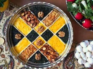 طرز پخت حلیم بادمجان غذای اصیل اصفهانی