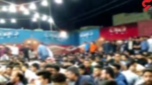 فیلمی ناباورانه از یک مراسم جشن در کروناییترین استان ایران