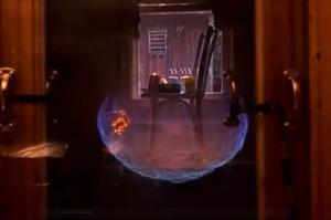 ویدیویی از صحنه آهسته انفجار اتاق پر از گاز