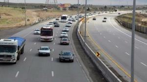 کاهش ۱۱ درصدی ترددهای جادهای در محورهای مواصلاتی ایلام