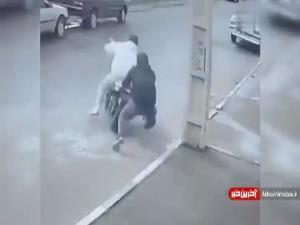 سرقت موتورسیکلت و دیر رسیدن چند ثانیهای مالک