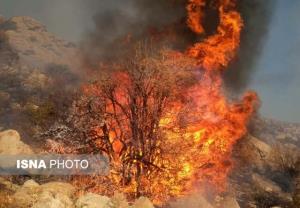 مهار یک فقره آتشسوزی در گچساران