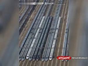 قطارهای خودران پکن با سرعت 350 کیلومتر بر ساعت!