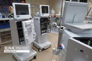 تحویل ۱۱ دستگاه دیالیز به بیمارستان سبلان اردبیل