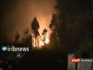 آتش سوزی در جنگلهای نپال
