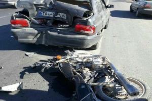 موتورسیکلت در صدر تصادفات سال 99