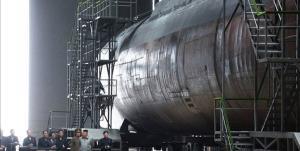 یونهاپ: کره شمالی ساخت زیردریایی 3000 تنی را تکمیل کرده است