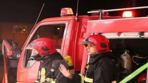 وقوع آتشسوزی در کارخانه کارتن سازی کرمان
