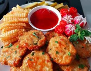 کوکوی مرغ پنیری؛ یک شام خوشمزه و مت�اوت