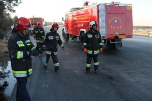 هشدارهای آتشنشانی شهرکرد در فصل بهار