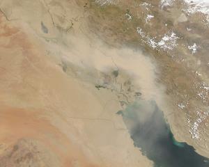 تکذیب ورود توده هوای سمی از عراق به ایران