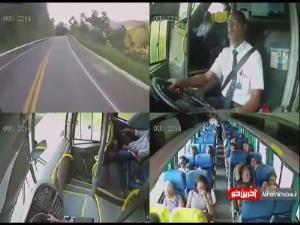 لقب سلطان جاده ها تنها برازنده این راننده اتوبوسه!