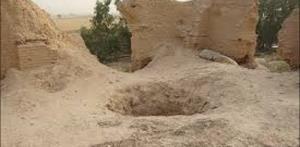 حفاران غیر مجاز در تپه تاریخی ارومیه از چاله به چاه افتاند