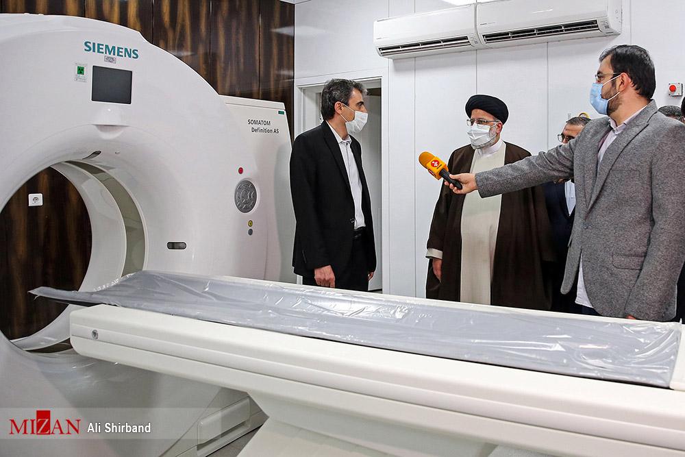 عکس/ افتتاح بیمارستان فوق تخصصی «عدل» وابسته به قوه قضائیه