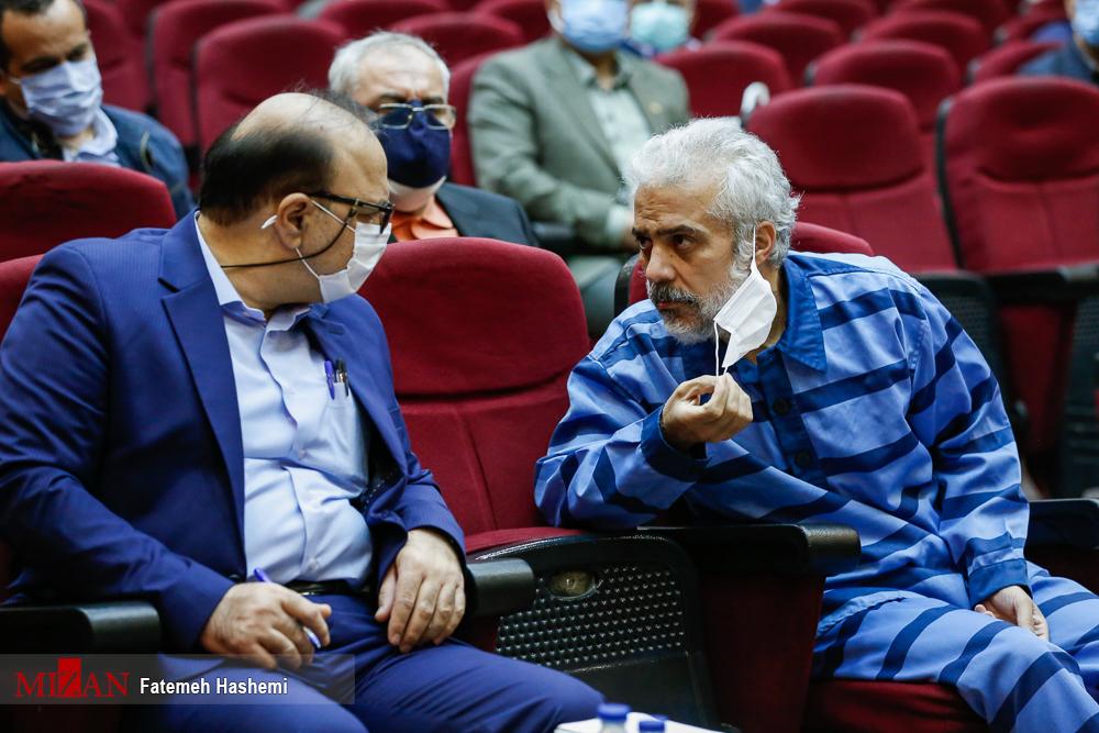 عکس/ محاکمه «حسن رعیت» دستیار «بابک زنجانی»