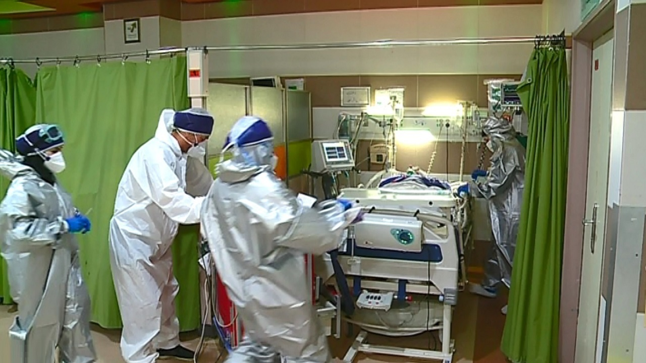۲ بیمارستان جایگزین کرونای اراک در حال پر شدن