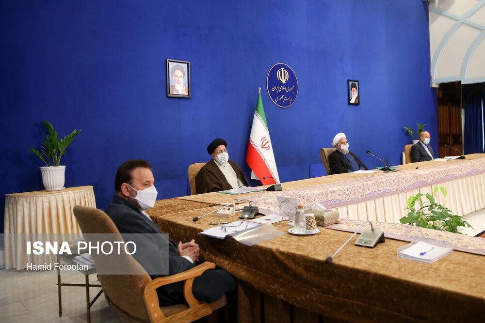 جلسه شورای عالی هماهنگی اقتصادی سران سه قوه