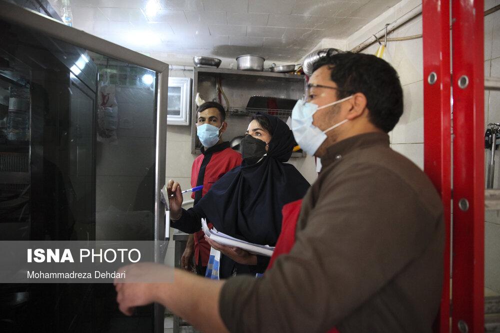 عکس/ تشدید طرح نظارت و بازرسی صنوف در شیراز