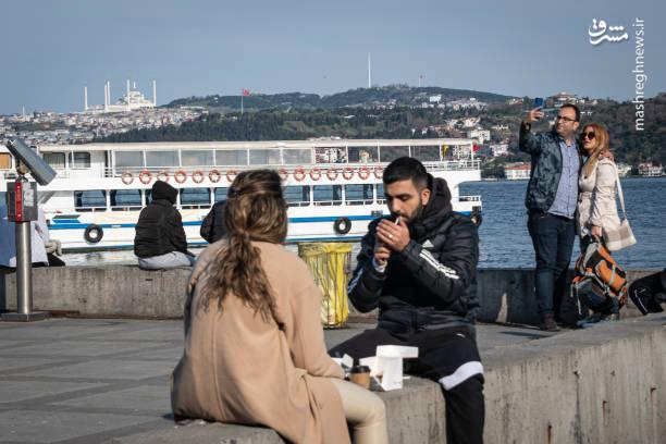 عکس/ وضعیت قرمز کرونایی در تمام شهرهای ترکیه
