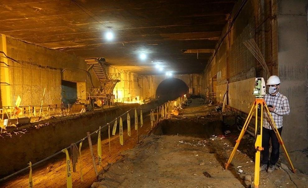 آخرین وضعیت متروی قم