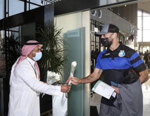استقبال سعودیها از کاروان استقلال