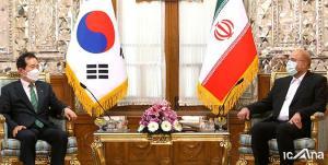 انتقادات صریح قالیباف در دیدار با نخست وزیر کره جنوبی