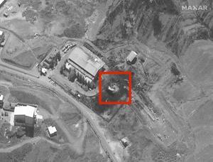 عکس/ انتشار تصویری جعلی از انفجار نطنز