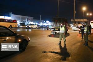 کنترل ورودی شهرهای قرمز و نارنجی خوزستان