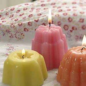 آموزش درست کردن شمع های خلاقانه با قالب ژله