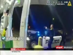 رفتار خشونت آمیز مامور پلیس آمریکا با یک نظامی سیاهپوست